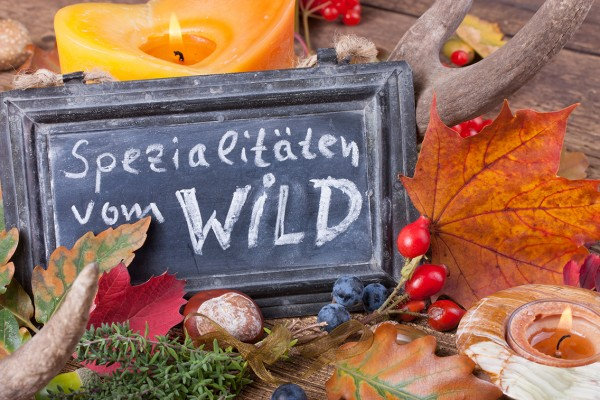 Wildbuffet (November bis Januar)